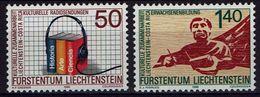 Liechtenstein 1988 - MiNr 945-946 - Europäische Kampagne Für Solidarität - Ungebraucht