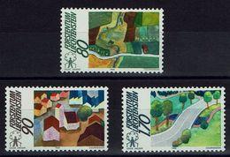 Liechtenstein 1988 - MiNr 939-941 - Europäische Kampagne Für Den Ländlichen Raum - Ungebraucht