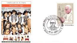 Polen - Polzka 1983 S.S.Giovanni Paolo II. In Polen. Zum:  2527 - Papes