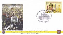 Polen - Polzka 2002 . Viaggio Apostolico Di S.S. Giovanni Paolo II In Polen - Papes