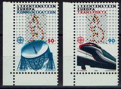 Liechtenstein 1988 - MiNr 937-938 - Europa: Transport- Und Kommunikationsmittel - Europa-CEPT