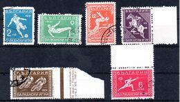 BULGARIE - YT  N° 231 à 236 - Cote: 130,00 € - 1909-45 Reino