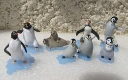 Kinder 2012 : Série Happy Feet 2 (7 Figurines) - Figurines