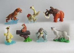 Kinder 2012 : Série Age De Glace 4 Et Age De Glace 2 (7 Figurines) - Figurines