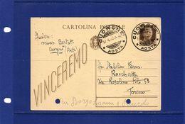 Pharmacy-Pharmacie-Apotheke. 17-4-1943 - Farmacia Bertotti -  Cuorgnè Canavese (Aosta) Adesso Prov. Torino - Farmacia