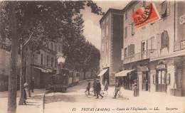 07 - ARDECHE / Privas - 07005 - Cours De L' Esplanade - Train - Privas