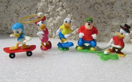 Kinder 2014 : Mickey Mouse And Friends : 5 Figurines  Avec 1 BPZ - Kinder & Diddl