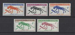 DAHOMEY . YT  Timbres Taxe  32/36  Neuf **  1963 - Benin – Dahomey (1960-...)