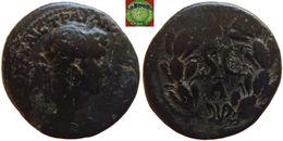Roman Empire - Syria - Antioch AE20 Of Hadrian (117-138 AD), Large S C Within Laurel Wreath - Romanas