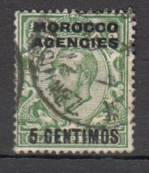 Maroc - Bureaux Anglais -  Zone Espagnole - 35 Obl. - Morocco Agencies / Tangier (...-1958)