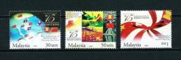 Malasia  Nº Yvert  1165/7  En Nuevo - Malaysia (1964-...)