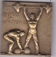 Médaille Poids Et Haltères - France
