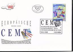 Österreich - FDC -  Mi.Nr.    2159     Europäische Konferenz Der Verkehrsminister (CEMT), Wien - FDC