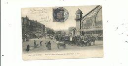 1 CP De Collection Du HAVRE (animée) Avec Un 10c Sage De 1898 Réutilisé   Le 22/03/1907.........à Voir........ - 1898-1900 Sage (Type III)