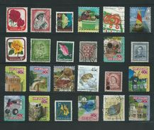 RB - 24 X New Zealand - Pracht Lot - Afgestempeld - Nr. 205 - Timbres