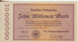 24-Germania-Cartamoneta-Banconota F.D.S. 10 Milioni Di Marchi-Stato Di Conservazione:Ottimo - [ 3] 1918-1933 : Weimar Republic