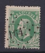 N° 30 LP 164 HAM SUR HEURE Coba +8.00 - 1869-1883 Léopold II