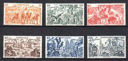 Col 4/ Martinique PA N° 7 à 12 Neuf X MH  Cote 8,00€ - Martinique (1886-1947)