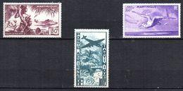 Col 4/ Martinique PA N° 13 à 15 Neuf X MH  Cote 57,75€ - Airmail