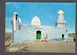 SAUDI ARABIA The Mosque Of Bilal On The Highest Peak Of Mecca Mountains FG V SEE 2 SCANS - Arabia Saudita