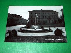 Cartolina Valdobbiadene - Piazza Marconi 1955 Ca - Treviso