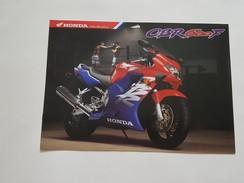 4) Honda CBR 600 F Depliant Originale Moto - Genuine Brochures - Motorrad Originalprospekt - Moto
