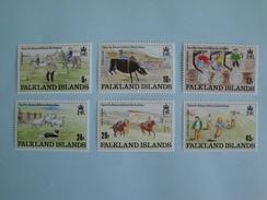 1989  Falkland Yvert 519/24 **  Sports  Scott Xx Michel 507/12  SG 587/92  Children's Drawings - Falkland