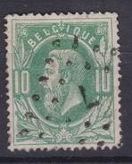 N° 30 LP  7  CUREGHEM  BXL   COBA +6.00 - 1869-1883 Leopold II