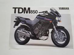 4) Yamaha TDM 850 1991 Depliant Originale Moto - Genuine Brochures - Motorrad Originalprospekt - Moto