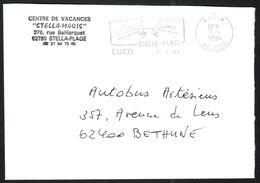 FRANCE '62 CUCQ P.P.'  1994  1 MARQUE POSTALE - Marcophilie (Lettres)