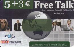 GREECE - Best Telecom Prepaid Card 5+3 Euro, Sample - Griechenland