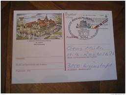 DRAKKAR VIKING Rodenberg Deister 1983 Stationery Card GERMANY - Barche