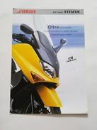 4) Yamaha T Max 2001 Depliant Originale Moto - Genuine Brochures - Motorrad Originalprospekt - Moto