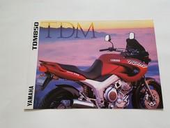 4) Yamaha TDM 850 1997 Depliant Originale Moto - Genuine Brochures - Motorrad Originalprospekt - Moto