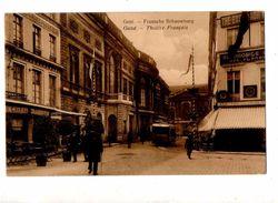 7271 GENT Théâtre Tramway Correspondance Allemande - Gent