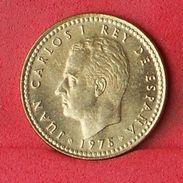 SPAIN 1 PESETA 1975-80 - KM# 806 - (Nº18559) - [ 5] 1949-… : Royaume