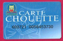 Carte Maxi Livre Carte Chouette. - Télécartes