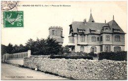 44 BOURG-de-BATZ - Prieuré St-Georges   (Recto/Verso) - Batz-sur-Mer (Bourg De B.)