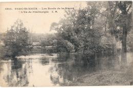 +---- 94 -  ---- PARC ST MAUR  Les Bords De La Marne Voyagé TTB - Saint Maur Des Fosses