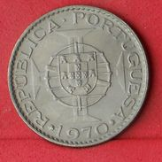ANGOLA 10 ESCUDOS 1970 - KM# 79 - (Nº18581) - Angola
