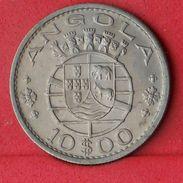 ANGOLA 10 ESCUDOS 1969 - KM# 79 - (Nº18582) - Angola