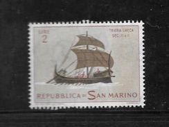 Pu25-timbre De San Marino Avec Publicité Au Verso Viberol Tyrothricine N°575 N++ - Publicités