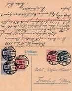 Allemagne Entier Postal Double Bochum 1922 - Ganzsachen