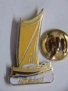 Pin's - Sports - Voile - Voilier YOLE De La MARTINIQUE - EGF - Sailing, Yachting