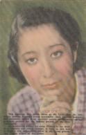 Film 'New Snow' Japanese WWII Propaganda(?) For Philippines, Gosho Director C1940s Vintage Postcard - Afiches En Tarjetas