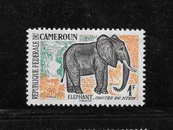 Pu24-timbre Du Cameroun Avec Publicité Au Verso Viberol Tyrothricine N°340 N++ - Publicités