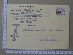 PORTUGAL - POSTAL STATIONERY - (Nº18611) - Interi Postali