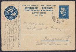 Yugoslavia 1949 Marshal Tito Postal Congress, Postal Stationery - Postal Stationery