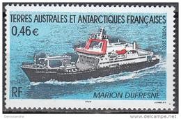 TAAF 2002 Yvert 330 Neuf ** Cote (2015) 2.00 Euro Navire Le Marion Dufresne - Terres Australes Et Antarctiques Françaises (TAAF)