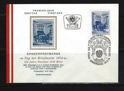 ÖSTERREICH - FDC Mi-Nr. 1471 Tag Der Briefmarke 1974 Stempel Wien (17) - FDC